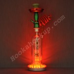 Bacardi Dragon Berry 1L Bottle Hookah with LED Stand