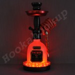 Patron XO Cafe Dark .750L Bottle Hookah with LED Stand