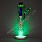 Bacardi Arctic Grape 1L Bottle Hookah with LED Stand