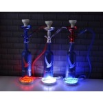Grey Goose Limited Edition 1.75L Night Vision Bottle Hookah with LED Stand